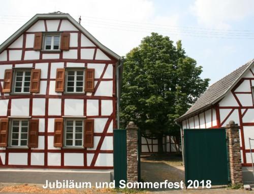 80 Jahre Hürther Funken Blau- Weiss und Sommerfest 2018 im Löhrer Hof